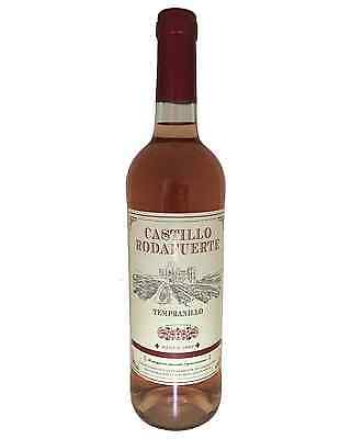 Castillo Rodafuerte Rose 2014 case of 12 Red Blend Rosé Wine 750mL