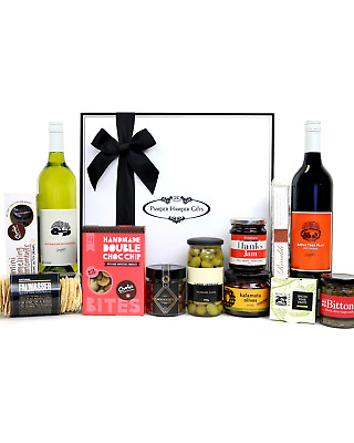 Pamper Hamper Gifts The Australian Gourmet Feast Deluxe 2015 Hapmers Wine