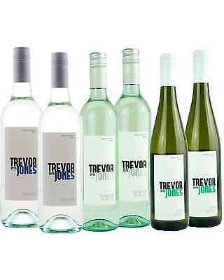 Trevor Jones Mixed White Tasting Pack bottle Mixed Whites Dry White Wine 750mL