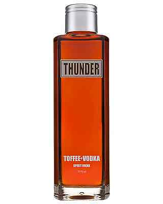 Thunder Toffee Vodka 700ml bottle