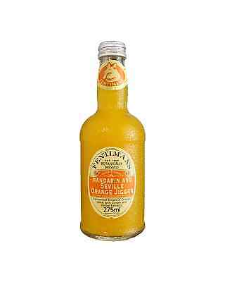 Fentiman's Mandarin & Seville Orange 275mL case of 12 Soft Drinks