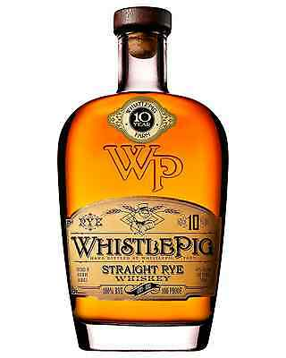 Whistle Pig 10 Year Old Rye Whiskey 700mL bottle