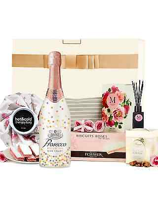 The Hamper Emporium Velvet Rose & Peony Hamper with Prosecco