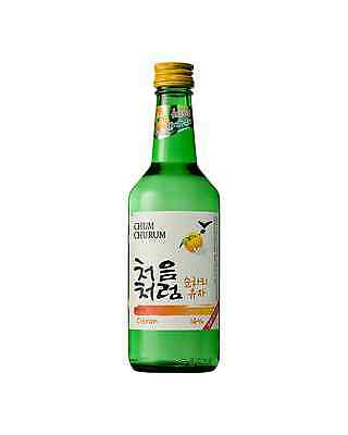 Lotte Liquor Chum Churum Citron case of 20 Soju 360ML