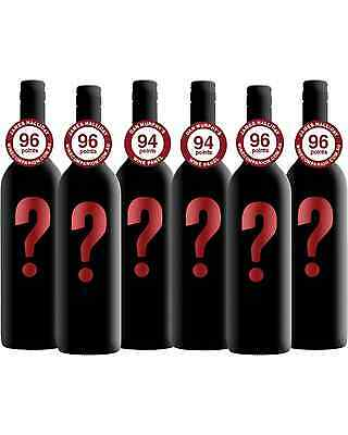 Mystery Mixed Cabernet Sauvignon 6-Pack case of (6) Dry Red Wine 750mL