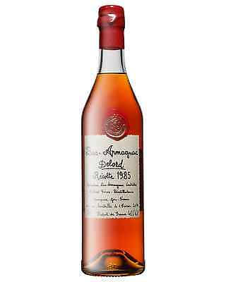 Delord 1985 Bas Armagnac 700mL case of 12 Brandy