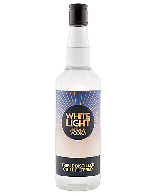 White Light Vodka Original 700mL case of 12