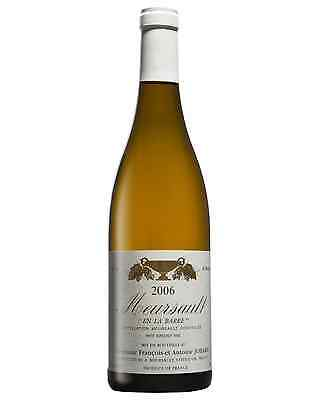 Domaine Antoine and Francois Jobard Meursault En la Barre 2006 bottle Chardonnay