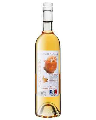 Dolfi Apple Caramel Flavoured Wine case of 6 Fruit Wine Fruit Liqueurs 750mL