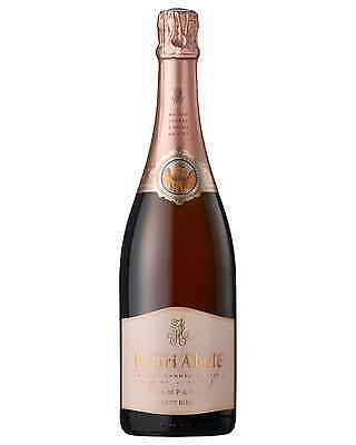 Henri Abele Champagne Rose Brut (Reims) case of 6 Sparkling Rose Wine 750mL