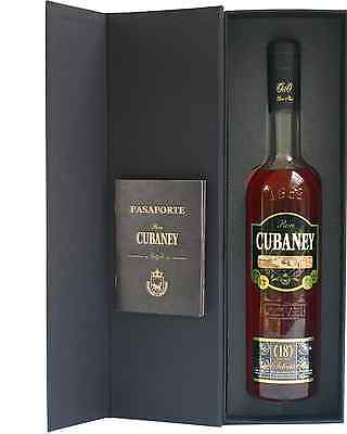 Cubaney Select 18 year old 700mL bottle Rum Dark Rum