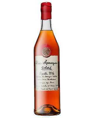 Delord 1996 Bas Armagnac 700mL case of 12 Brandy