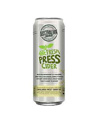 Australian Brewery The Fresh Press Cider 355mL case of 24 Apple Cider