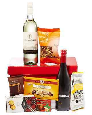 Hampers with Bite Red & White Delight Hamper