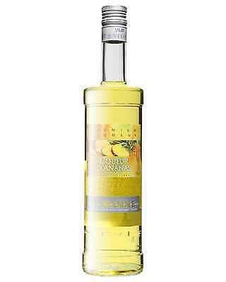 Vedrenne Liqueur d'Ananas 700mL case of 6 Fruit Liqueurs Burgundy