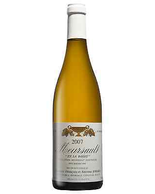 Domaine Antoine and Francois Jobard Meursault En la Barre 2007 bottle Chardonnay