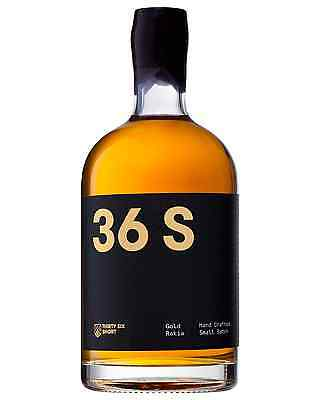 36 Short Gold Rakia 500ml bottle