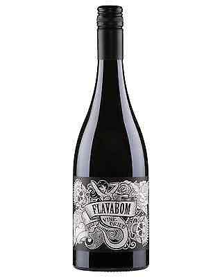 Flavabom Vine Dried Shiraz 2015 case of 6 Dry Red Wine 750mL
