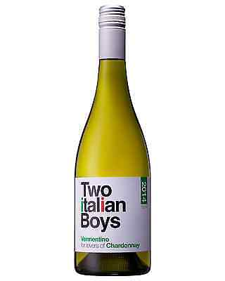 Two Italian Boys Vermentino 2014 case of 12 Dry White Wine 750mL