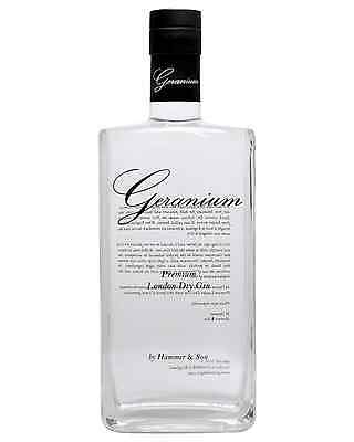 Geranium Gin 700mL bottle