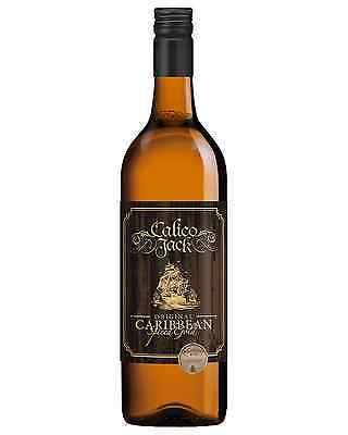 Calico Jack Original Caribbean Spiced Gold Liqueur case of 6 Rum Liqueur 750mL