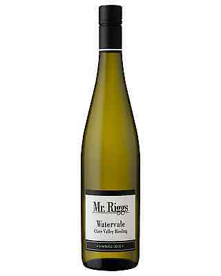 Mr Riggs Watervale Riesling 2015 case of 12 Dry White Wine 750mL Clare Valley