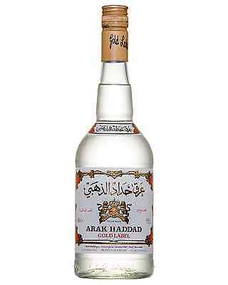 Arak Haddad Gold 750mL case of 6 Fruit Liqueurs Middle East