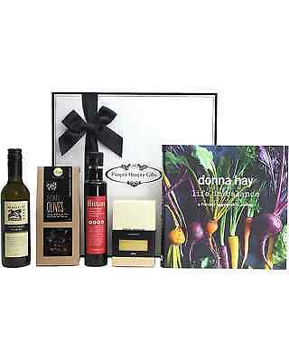 Pamper Hamper Gifts Donna Hay A Fresher Approach to Eating, Gourmet Hamper Wine