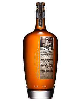 Masterson'S 10 Year Old Rye Whiskey 750mL case of 6