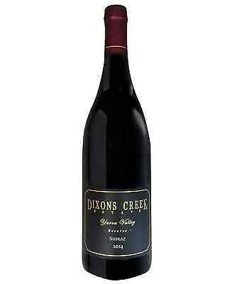 Dixons Creek Estate Reserve Shiraz 2014 case of 6 Dry Red Wine 750mL