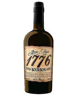 James E Pepper 1776 Straight Bourbon 750mL bottle