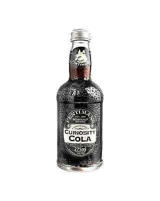 Fentiman's Curiosity Cola 275mL case of 12 Soft Drinks