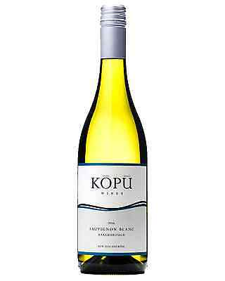 Kopu Sauvignon Blanc 2016 case of 12 Dry White Wine 750mL New Zealand