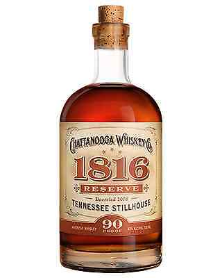 Chattanooga 1816 Reserve Whiskey 750mL case of 6 American Whiskey Tennessee