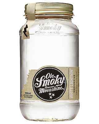 Ole Smoky White Lightning Moonshine 750mL case of 6 American Whiskey Tennessee