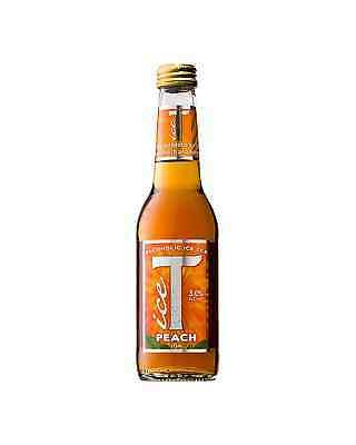 Ice T Alcoholic Peach Ice Tea 275mL case of 24 Premixed Drinks Spirit