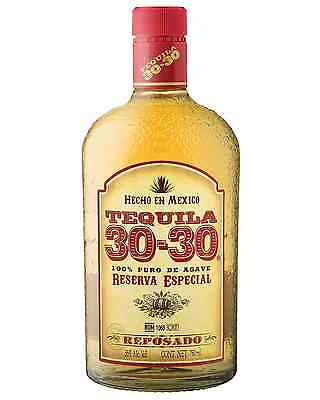 30-30 Tequila Reposado 100% Agave 750ml bottle