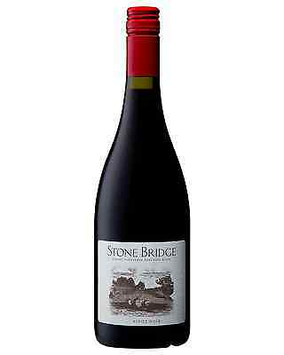 Stone Bridge Pinot Noir 2014 case of 6 Dry Red Wine 750mL Adelaide Hills