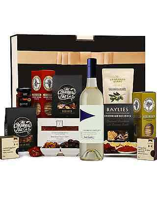 The Hamper Emporium White Wine Nibbles Hamper