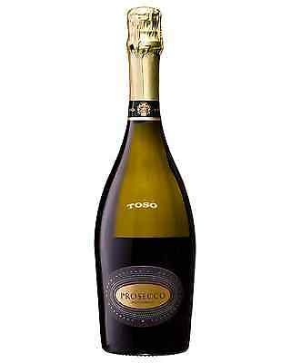 Toso Prosecco Millesimato 2015 case of 6 Sparkling White Wine 750mL