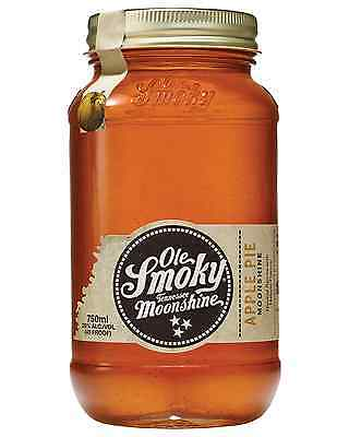 Ole Smoky Apple Pie Moonshine 750mL case of 6 American Whisky Tennessee