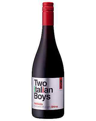 Two Italian Boys Nebbiolo 2012 case of 12 Dry Red Wine 750mL