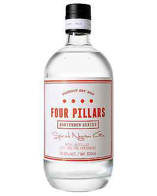 Four Pillars Spiced Negroni Gin 700mL case of 6