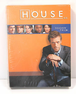 House MD - Season 2 TWO (***NEW***DVD Box Set) - Hugh Laurie- SEALED