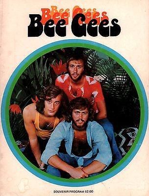 Bee Gees 1974 Mr. Natural Tour Concert Program Book / Barry Gibb
