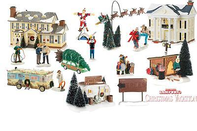 NEW 2016 Department 56 Snow Village Griswold Christmas Vacation 14 PC Lot Set