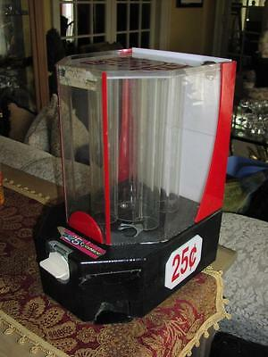 Vintage Mint O Matic 25 Cent Vending Machine Candy Dispenser