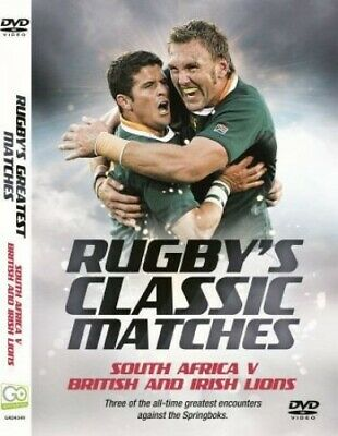 Rugby's Classic Matches: South Africa v British & Irish Lions - DVD  Y6VG The