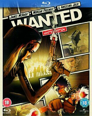 Wanted (2008): Reel Heroes Edition [Blu-ray] [Region Free] - DVD  JWVG The Cheap