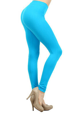 Seamless Spandex  Legging  Ankle Length  Regular  Size and Plus Size
